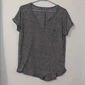 Charlotte Russe Basic Henley T-Shirt